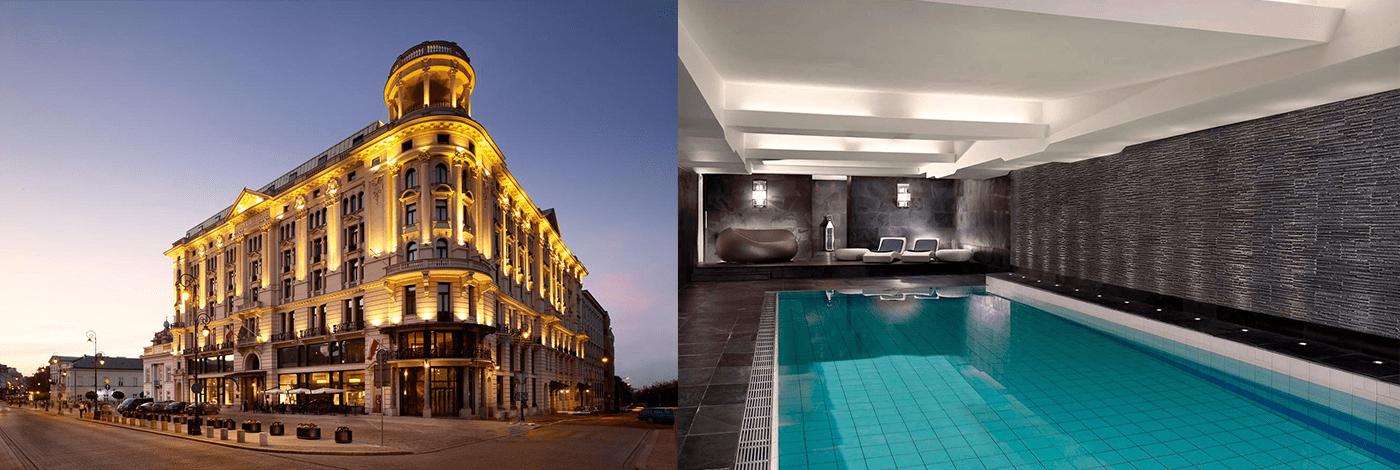 Hotell Bristol i Warszawa.
