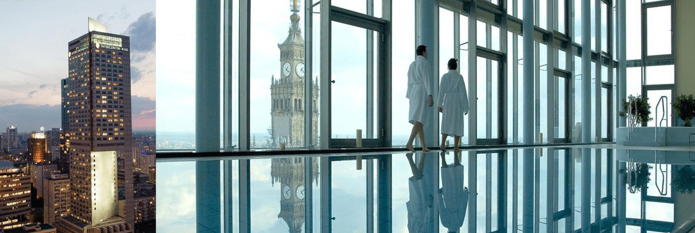 Hotell InterContinental i Warszawa.