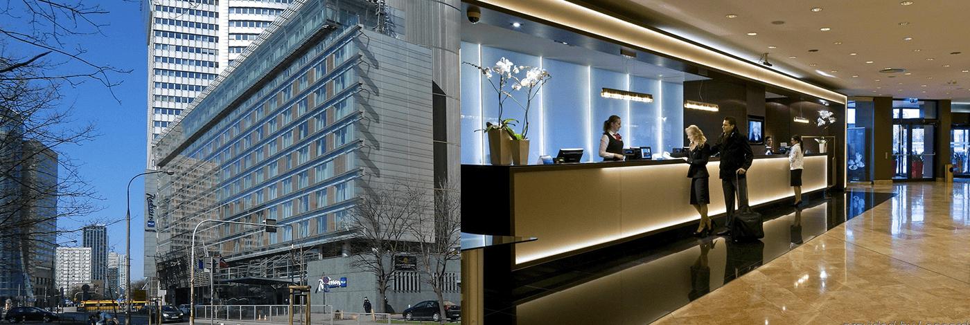 Radisson Blu Centrum Hotell i Warszawa.