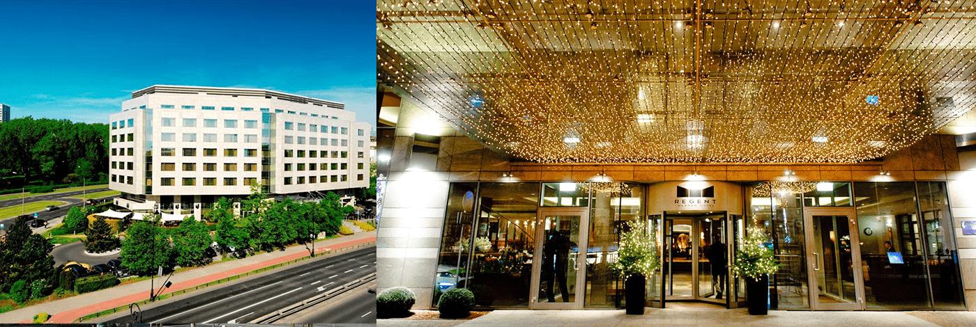 Hotell Regent i Warszawa.