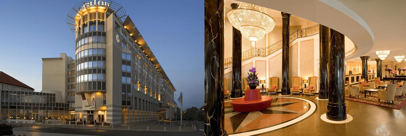 Hotell Sheraton i Warszawa.