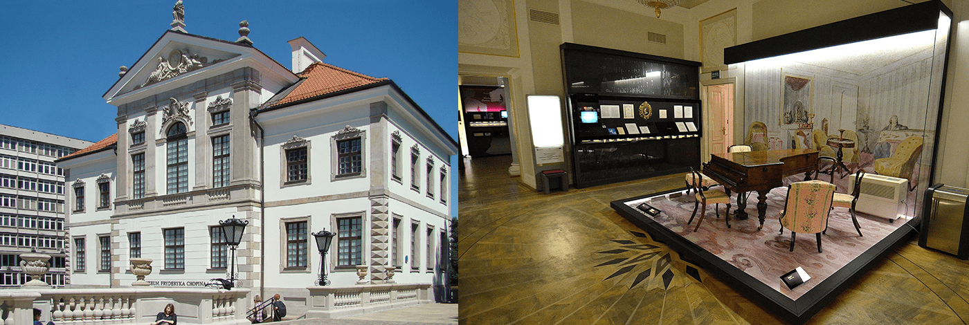Fryderyk Chopin museum.