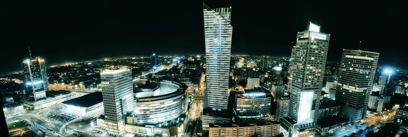 Natt i Warszawa.