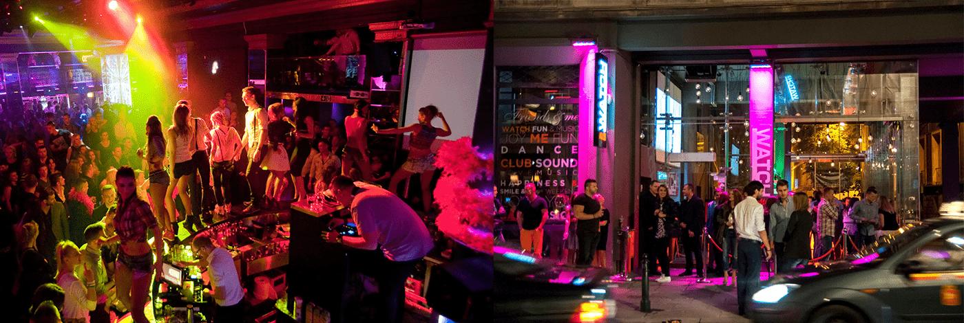 Nattklubbar i Warszawa.