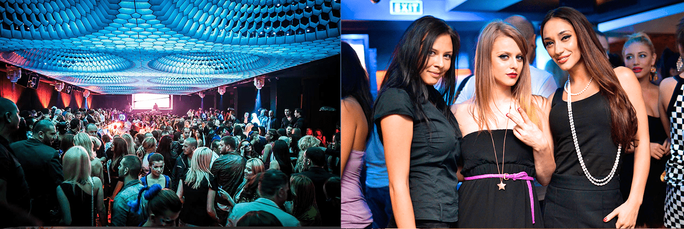 Sofia Go Go nattklubb i Warszawa.
