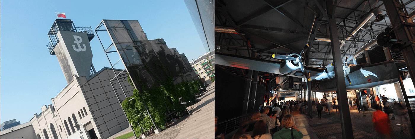 Upprorsmuseet i Warszawa.