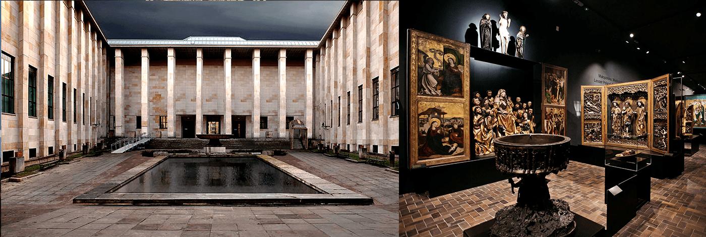 Polens nationalmuseum i Warszawa.